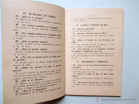 libro catecismo de la doctrina cristiana   2º g   Comprar ...