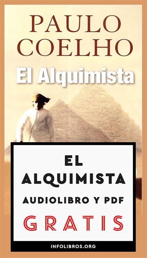 Libro El Alquimista De Paulo Coelho Pdf Gratis   Libros ...