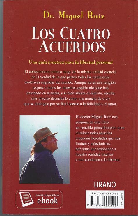 Libro Los Cuatro Acuerdos: Un Libro De Sabiduria Tolteca ...