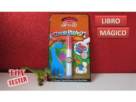 Libro mágico de dinosaurios para pintar | Vídeos de ...