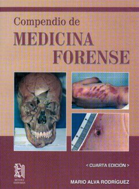 Libro Manual De Medicina Legal Y Forense PDF ePub   LibrosPub