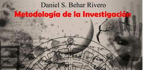 Libro PDF Metodología de la Investigación de Daniel S ...