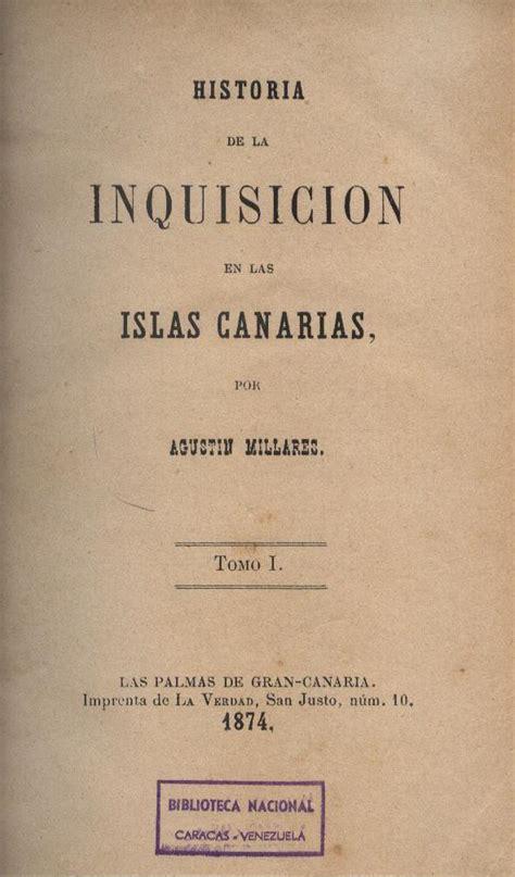 Libros Raros y Manuscritos : HISTORIA DE LA INQUISICIÓN EN ...