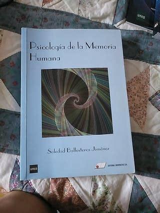 Libros Uned psicología de segunda mano en WALLAPOP