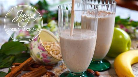 Licuado de Avena, Yogurt y Frutas para Empezar un Buen Día ...