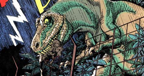 Lido Shuffle: Panel Vision   Jurassic Park Raptor Saga