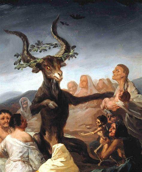 Lienzo Tela Canvas El Aquelarre Francisco Goya 1798 70 X ...