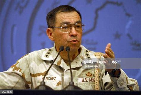 Lieutenant General Ricardo Sanchez, the top commander of ...