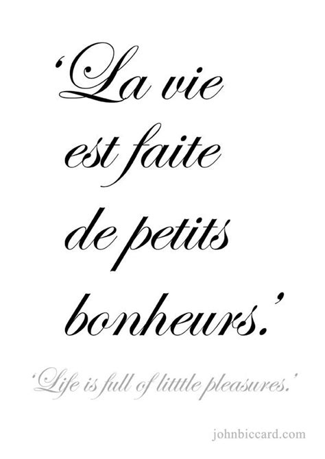 Life is full of little pleasures.  | French quotes, Paris ...