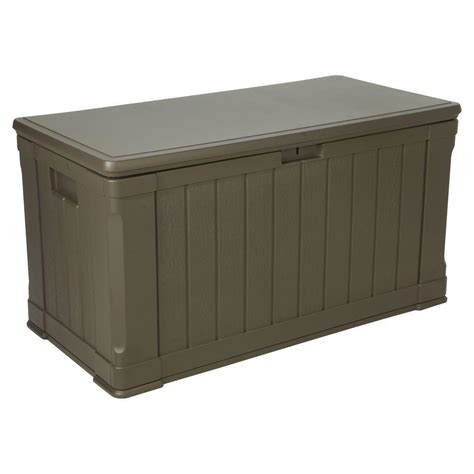 Lifetime 116 Gal. Polyethylene Outdoor Deck Box 60089 ...
