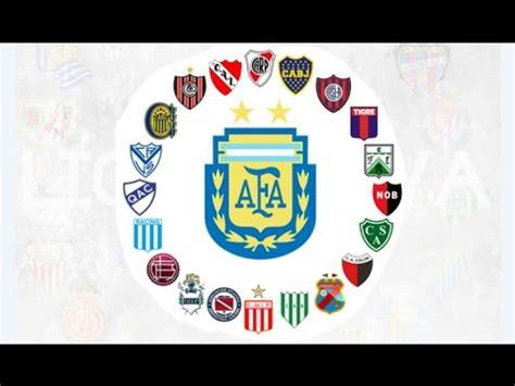 Liga argentina, todos los campeones de argentina, primera ...