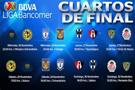 LIGA BBVA Bancomer MX: Definidas fechas y horarios de los ...