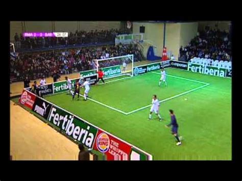Liga de Fútbol Indoor: Real Madrid Barcelona   YouTube