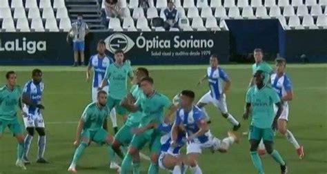 Liga Española: El posible penalti por mano de Jovic que ...
