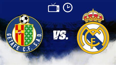 Liga Española: Getafe vs Real Madrid: Horario y dónde ver ...