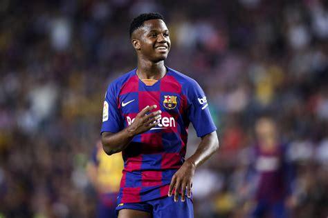 Liga: le prodige Ansu Fati buteur contre Valence à ...