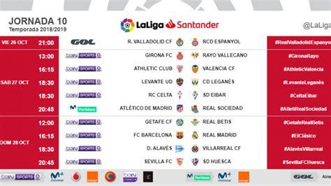Liga Santander 2018 19: El clásico ya tiene fecha: el ...