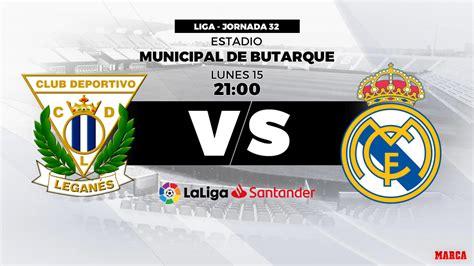 Liga Santander 2018 19: Leganés   Real Madrid: hora y ...