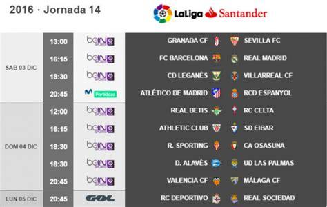 Liga Santander: Granada Sevilla, sábado 3 de diciembre a ...