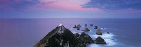 Lighthouse, Nugget Point, the Catlins, South Island New ...