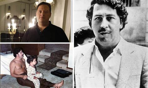 Like living in Disneyland  Pablo Escobar s son reveals ...