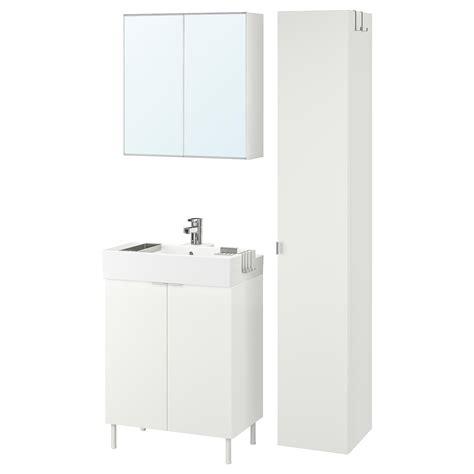 LILLÅNGEN Muebles de baño, 6 piezas   blanco/Ensen grifo ...