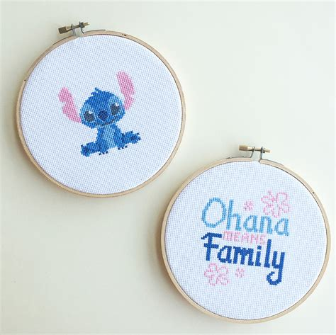 Lilo & Stitch Cross Stitch | Disney Family