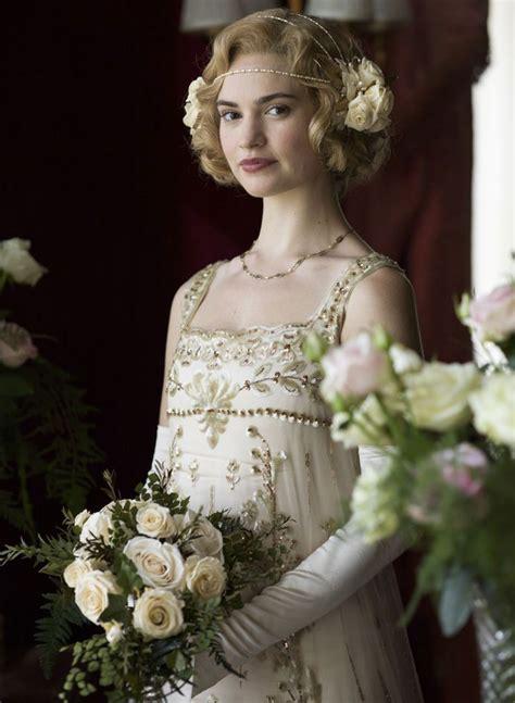 Lily James as Lady Rose Aldridge, Downton Abbey | Lily ...