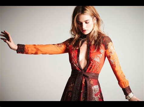 Lily James Instagram Videos   YouTube