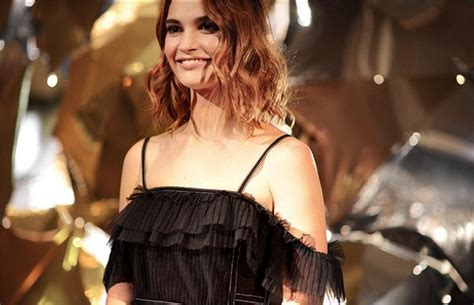 Lily James Is Burberry s Newest Beauty | Val s Vanity