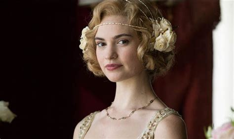 Lily James won t be returning for Downton Abbey movie