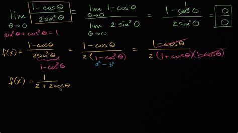 Límite de una función trigonométrica usando la identidad ...