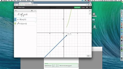 Limits using Graphs and Tables in Desmos Graphing ...