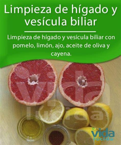 Limpieza de hígado y vesícula biliar con pomelo, limón ...