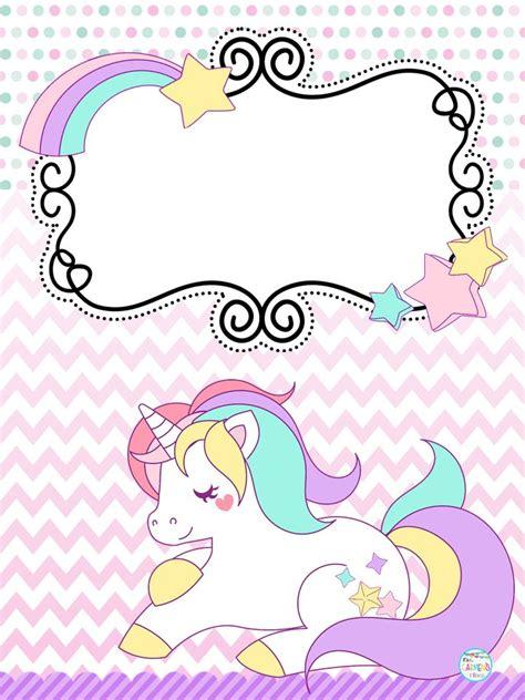Lindas portadas de unicornios | Educación Primaria # ...