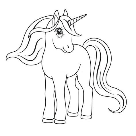 lindo unicornio para colorear para para unicornios lindos ...