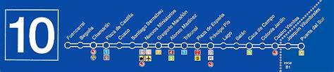 Linea 10 Plano Metro Madrid