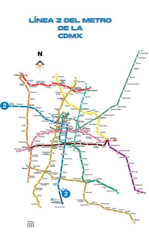 Línea 2 del Metro de la CdMX   Mexico Real