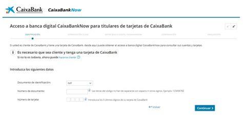 Línea Abierta Caixa Bank o CaixaBankNow 【 Ayuda AQUI