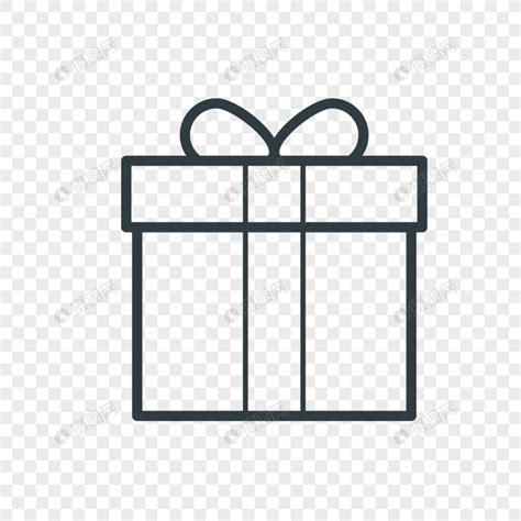 línea de regalo dibujo negro Imagen Descargar_PRF Gráficos ...