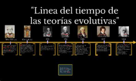 Linea del tiempo de las teorias evolutivas by julio ayala ...