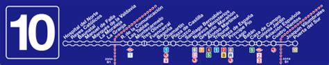 Linha 10  Metro de Madrid  – Wikipédia, a enciclopédia livre