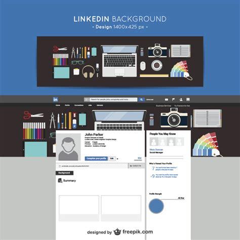 Linkedin conception de fond | Télécharger des Vecteurs ...
