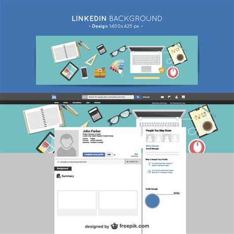 LinkedIn designers background Vector | Free Download