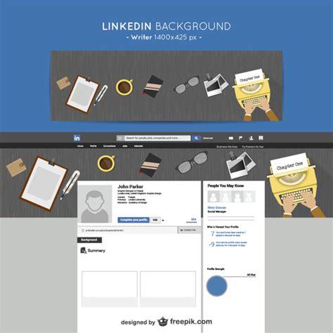 Linkedin fondo escritor | Descargar Vectores gratis