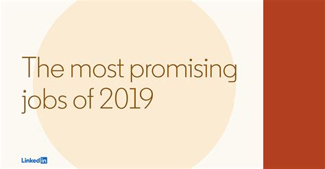 LinkedIn's Most Promising Jobs of 2019 | Official LinkedIn ...