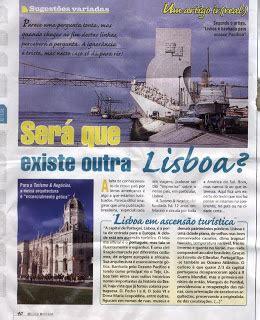 LISBOA EM ASCENSÃO TURÍSTICA