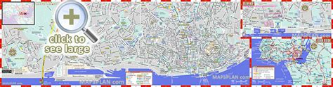 Lisbon maps   Top tourist attractions   Free, printable ...