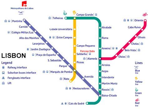 Lisbon Metro Map in 2019 | Lisbon tram, Metro map, Lisbon