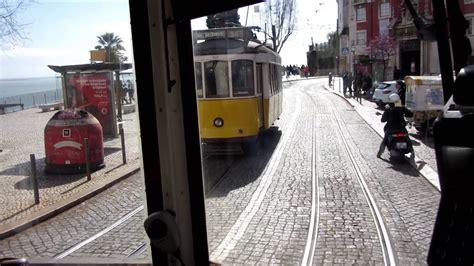 Lisbon tram 12   Lissabon Straßenbahn 12   Lisboa ...